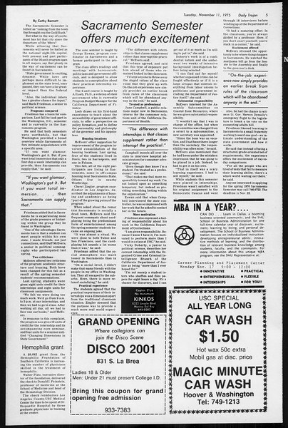 Daily Trojan, Vol. 68, No. 38, November 11, 1975
