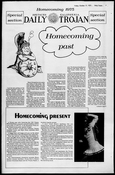 Daily Trojan, Vol. 68, No. 23, October 17, 1975