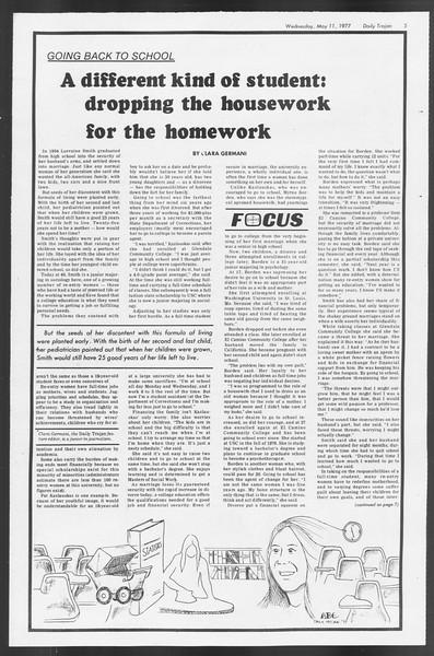Daily Trojan, Vol. 71, No. 57, May 11, 1977