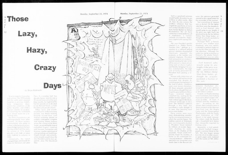 SoCal, Vol. 67, No. 6, September 23, 1974
