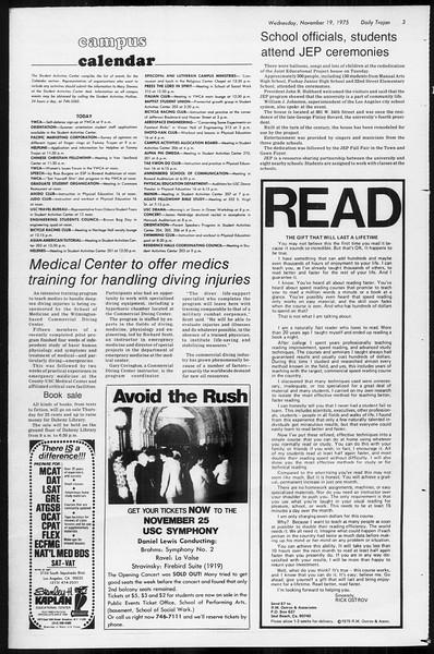 Daily Trojan, Vol. 68, No. 44, November 19, 1975