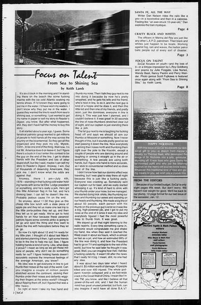 SoCal, Vol. 68, No. 58, December 15, 1975