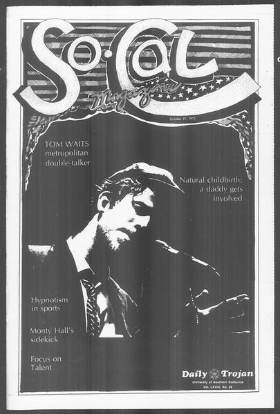 SoCal, Vol. 68, No. 29, October 27, 1975