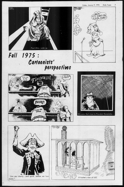 Daily Trojan, Vol. 68, No. 64, January 09, 1976