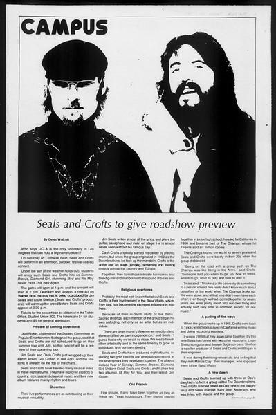 Daily Trojan, Vol. 68, No. 127, May 11, 1976