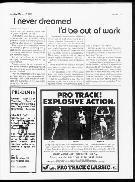 SoCal, Vol. 67, No. 93, March 17, 1975