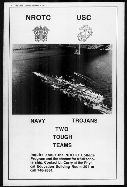 Daily Trojan, Vol. 68, No. 1, September 09, 1975