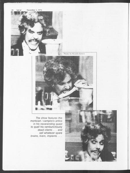 SoCal, Vol. 70, No. 30, November 01, 1976