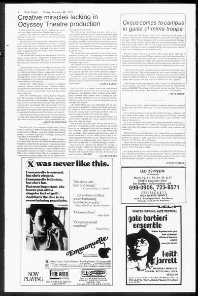 Daily Trojan, Vol. 67, No. 82, February 28, 1975