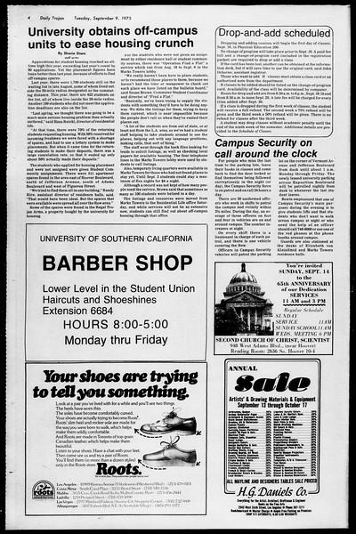 Daily Trojan, Vol. 68, No. 1, September 09, 1975