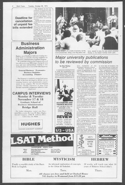 Daily Trojan, Vol. 68, No. 30, October 28, 1975
