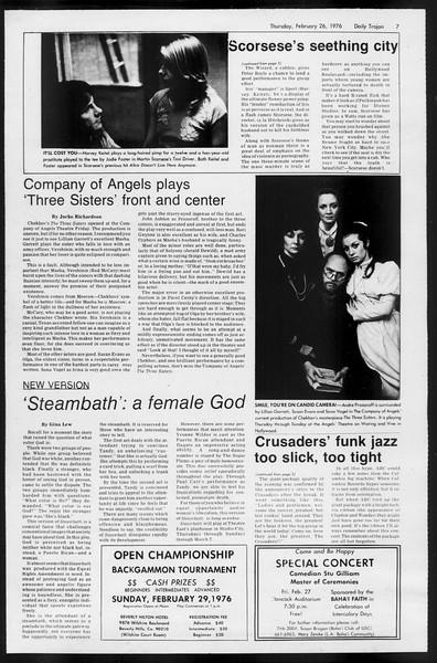 Daily Trojan, Vol. 68, No. 81, February 26, 1976