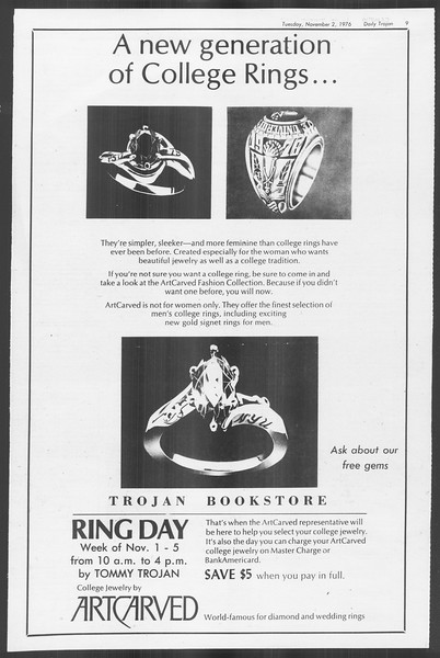 Daily Trojan, Vol. 70, No. 31, November 02, 1976