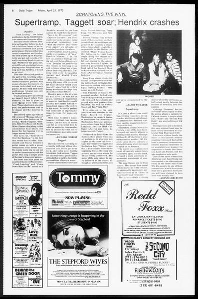 Daily Trojan, Vol. 67, No. 115, April 25, 1975