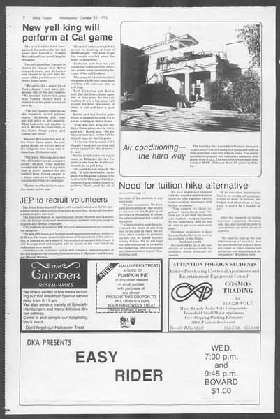 Daily Trojan, Vol. 68, No. 31, October 29, 1975