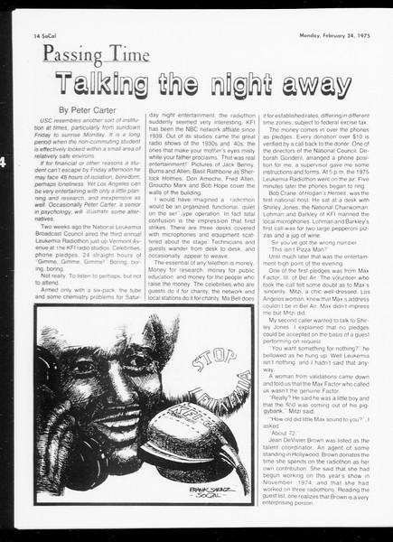 SoCal, Vol. 67, No. 78, February 24, 1975