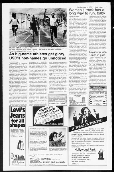 Daily Trojan, Vol. 67, No. 124, May 08, 1975
