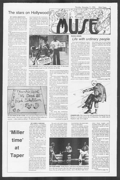 Daily Trojan, Vol. 70, No. 35, November 11, 1976