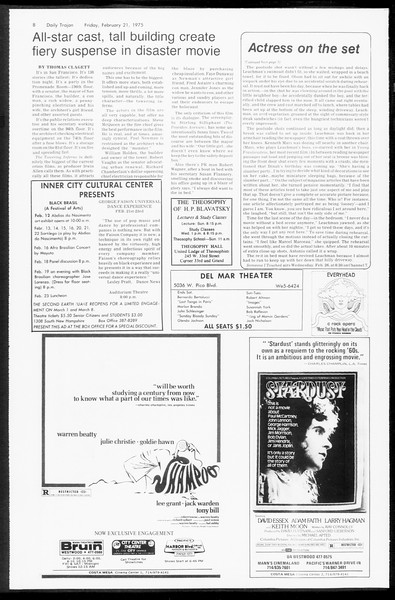 Daily Trojan, Vol. 67, No. 77, February 21, 1975