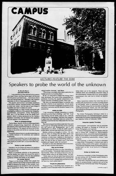 Daily Trojan, Vol. 68, No. 15, October 07, 1975