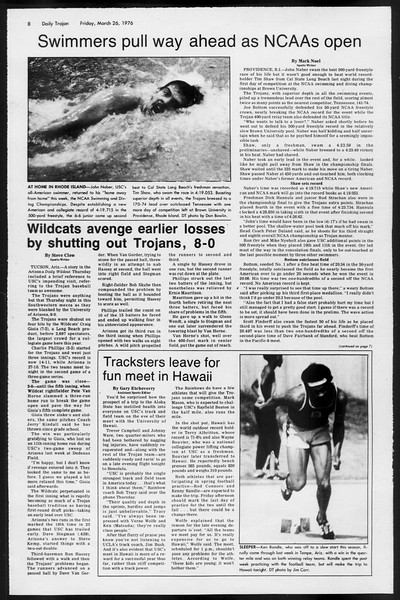Daily Trojan, Vol. 68, No. 102, March 26, 1976