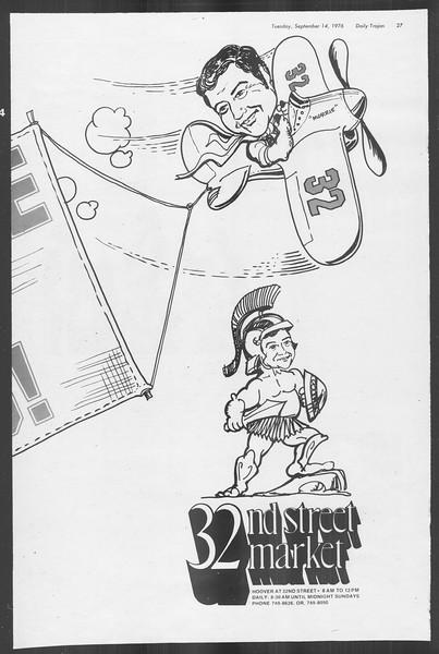 Daily Trojan, Vol. 70, No. 1, September 14, 1976