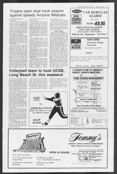 Daily Trojan, Vol. 71, No. 17, March 04, 1977