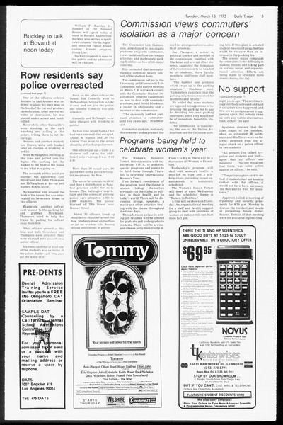 Daily Trojan, Vol. 67, No. 94, March 18, 1975