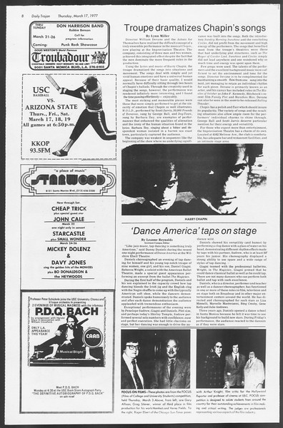 Daily Trojan, Vol. 71, No. 26, March 17, 1977