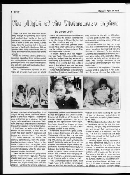 SoCal, Vol. 67, No. 116, April 28, 1975
