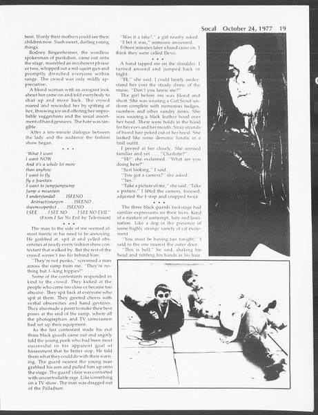SoCal, Vol. 72, No. 25, October 24, 1977