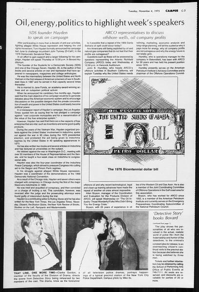 Daily Trojan, Vol. 68, No. 33, November 04, 1975