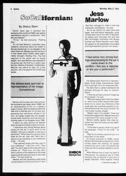 SoCal, Vol. 67, No. 121, May 05, 1975