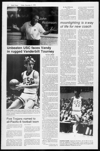 Daily Trojan, Vol. 68, No. 52, December 05, 1975