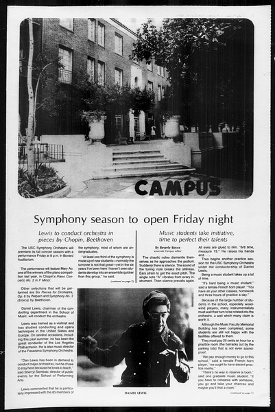 Daily Trojan, Vol. 68, No. 20, October 14, 1975