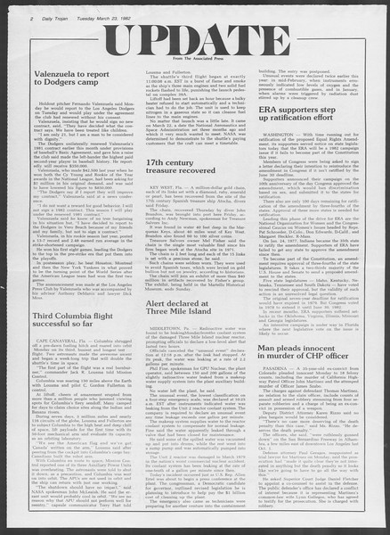 Daily Trojan, Vol. 91, No. 48, March 23, 1982
