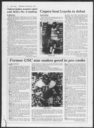 Daily Trojan, Vol. 91, No. 59, November 25, 1981
