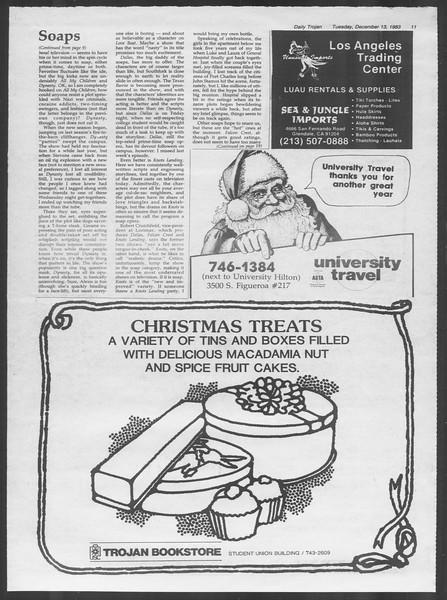 Daily Trojan, Vol. 94, No. 67, December 13, 1983