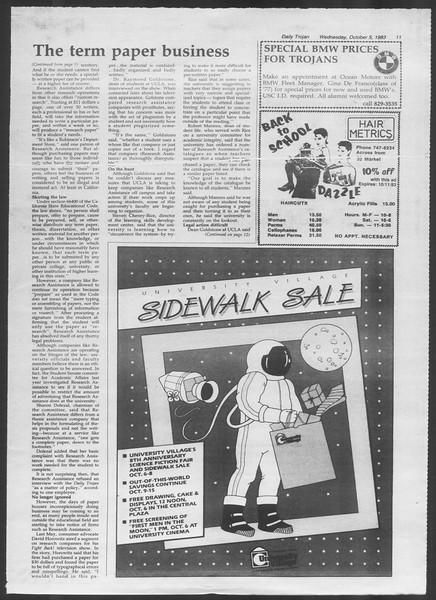 Daily Trojan, Vol. 94, No. 22, October 05, 1983