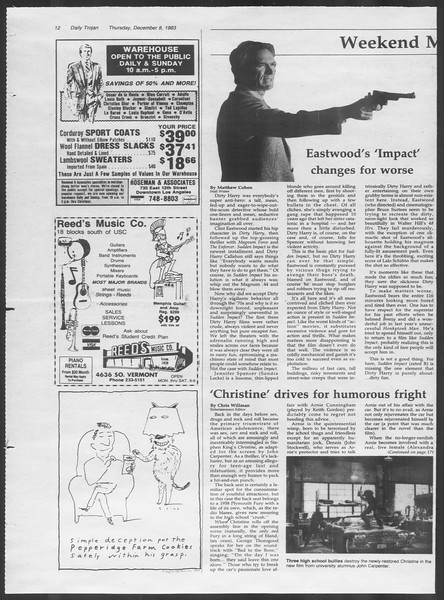 Daily Trojan, Vol. 94, No. 64, December 08, 1983