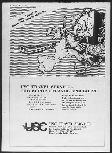 Summer Trojan, Vol. 93, No. 2, June 01, 1983