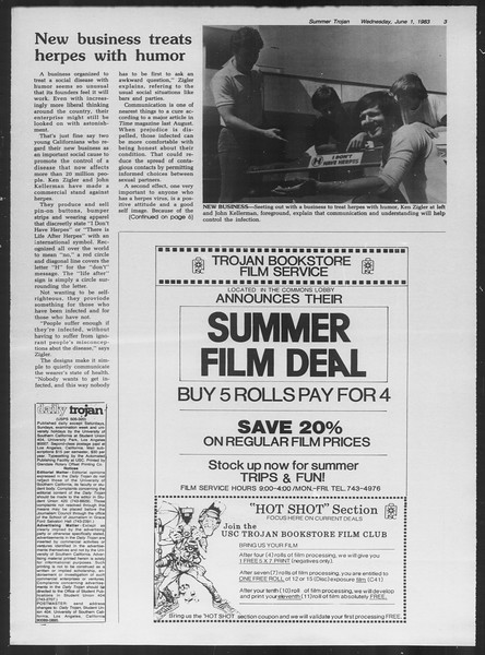 Summer Trojan, Vol. 93, No. 2, June 01, 1983