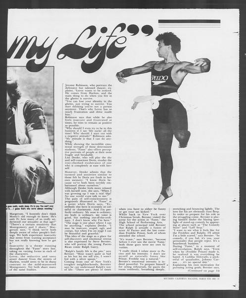 Southern California Magazine, Vol. 91, No. 37, March 08, 1982