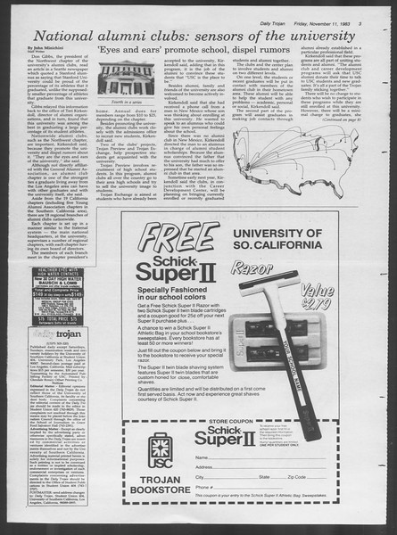 Daily Trojan, Vol. 94, No. 48, November 11, 1983