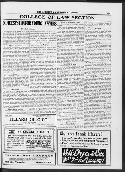 The Southern California Trojan, Vol. 10, No. 26, May 27, 1919