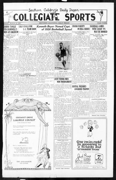Daily Trojan, Vol. 16, No. 65, March 10, 1925