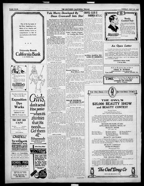 The Southern California Trojan, Vol. 14, No. 94, May 22, 1923