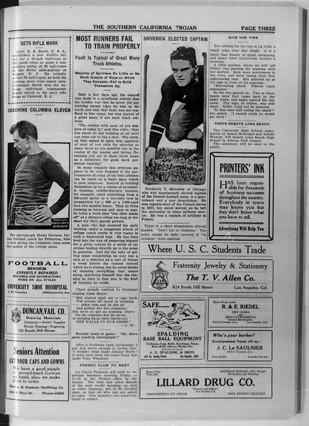 The Southern California Trojan, Vol. 11, No. 22, November 20, 1919