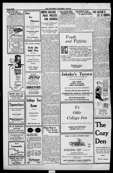 The Southern California Trojan, Vol. 13, No. 40, February 03, 1922