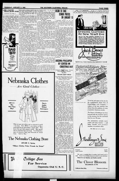 The Southern California Trojan, Vol. 13, No. 32, January 05, 1922